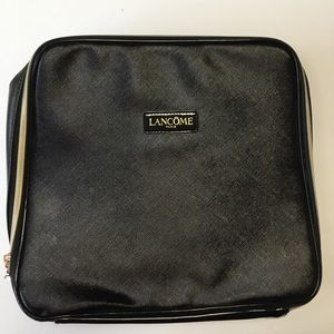 LANCOME PARIS Make Up Bag Cosmetic Large Vinyl